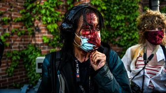 ثبت بیش از ۱۰۰ مورد حمله به خبرنگاران در اعتراضات آمریکا