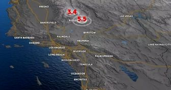زلزله آمریکا را لرزاند