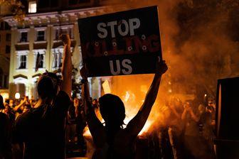 پایتخت آمریکا امروز صحنه تظاهراتی بیسابقه