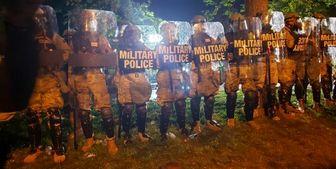 ضربات کینهشتری پلیس آمریکا به معترضان/ فیلم