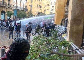 8 زخمی در تظاهرات لبنان