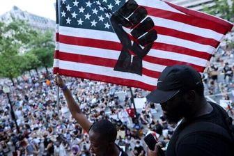تظاهرات آمریکایی ها و حضور ۱۰ هزار نفر در خیابانهای پایتخت