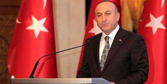 وزیر خارجه ترکیه، فرانسه را متهم کرد.