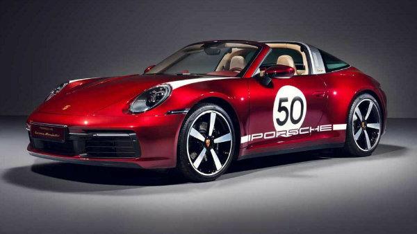 پورشه 911 تارگا 4S نسخه Heritage Design Edition معرفی شد؛ شاهکار کلاسیک مدرن