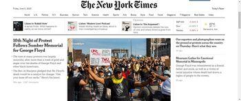نیویورکتایمز خبرداد؛ از هر ۵ آمریکایی یک نفر شغل خود را از دست خواهد داد!