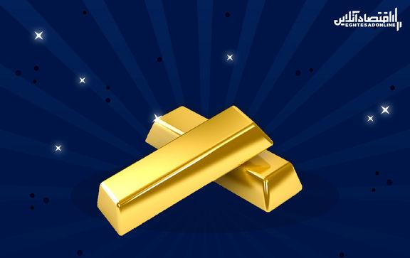 رشد ۵دلاری طلا با افت ارزش دلار در بازارهای جهانی