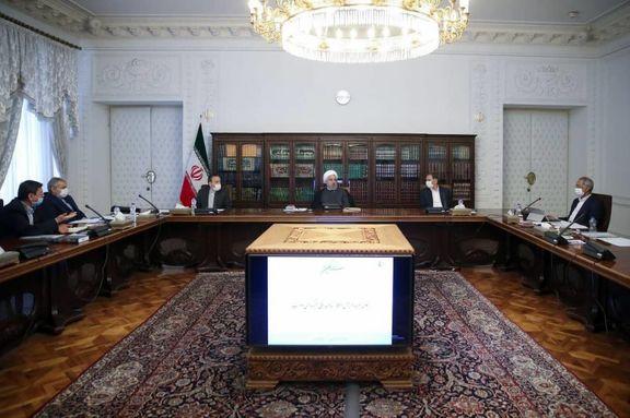 روحانی : تلاش دولت این است که اقشار کم برخوردار در تکانههای اقتصادی آسیب نبینند/ اقدامات اجرایی برای آزادسازی سهام عدالت