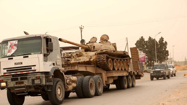 تسلط کامل نیروهای دولت وفاق لیبی بر طرابلس