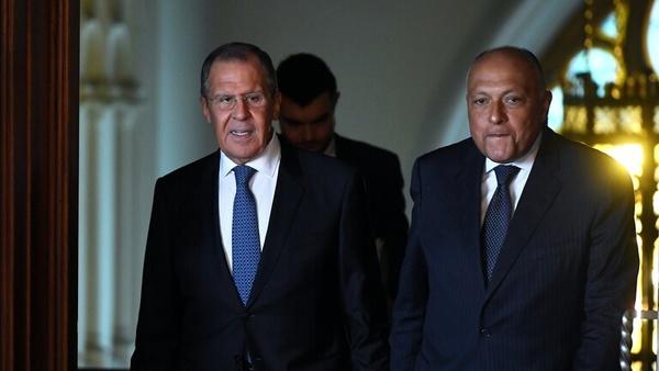 گفتوگو تلفنی وزرای خارجه روسیه و مصر