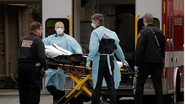 ثبت بیش از ۱۲۰۰ مورد مرگ بر اثر کرونا در آمریکا طی ۲۴ ساعت گذشته