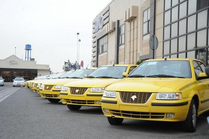 تاکسی های موجود در نمایندگی ها دارای مالکیت مشخص است