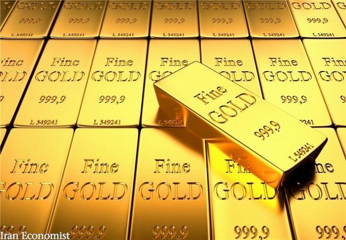 سومین کاهش هفتگی متوالی قیمت جهانی طلا
