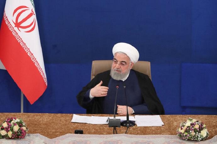 روحانی: تلاش برای رفع انسداد منابع ارزی کشور در بانکهای خارجی