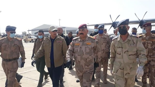 """آغاز مرحله دوم عملیات """"قهرمانان عراق"""" از صبح امروز/ بازدید الکاظمی از روند عملیاتها در کرکوک"""