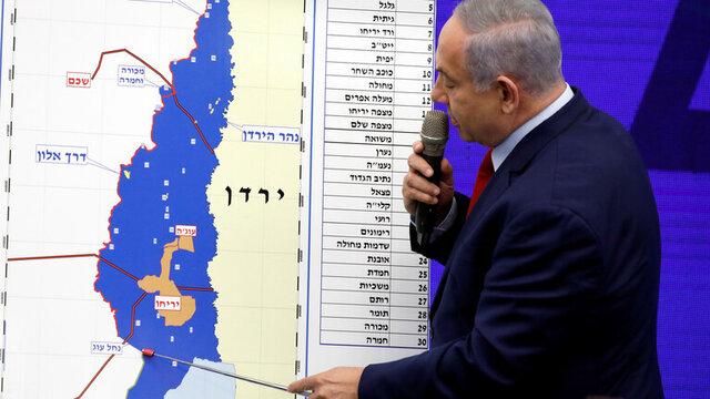 نتانیاهو نقشه های معامله قرن را از اعضای دولتش مخفی میکند