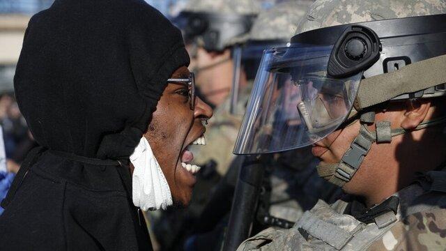 تعداد بازداشتشدگان اعتراضات آمریکا از ۱۰ هزار تن گذشت