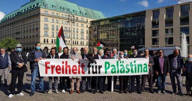برگزاری مراسم سالروز اشغال قدس در برلین/ تظاهرات با خودرو در خیابانهای لندن در سالروز اشغال