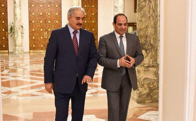 اولین واکنش ترکیه به دیدار سیسی و حفتر و ابتکارعمل قاهره