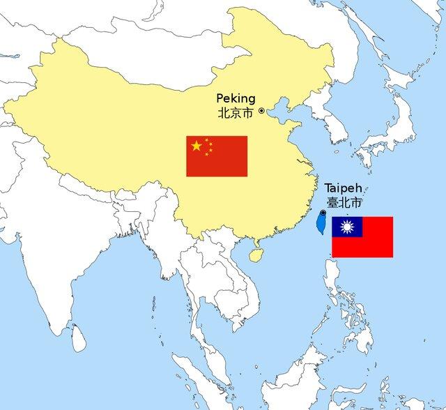 دوریگزینی اپوزیسیون تایوان از چین