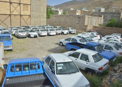 شناسایی و کشف خودروهای احتکاری در تبریز