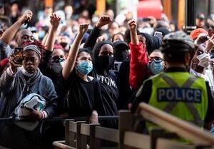 اعتراضات گسترده ضد نژادپرستی در آمریکا +فیلم