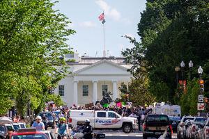 خیابانهای اطراف کاخ سفید مسدود شدند
