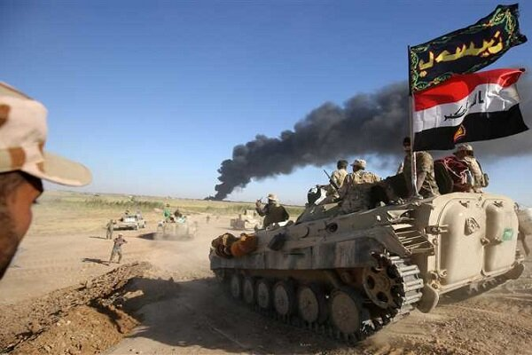 حشد شعبی یورش داعش به شمال دیالی را ناکام گذاشت
