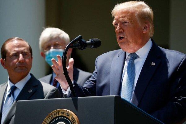 توجیه جدید ترامپ برای حمایت از سرکوب معترضان آمریکائی
