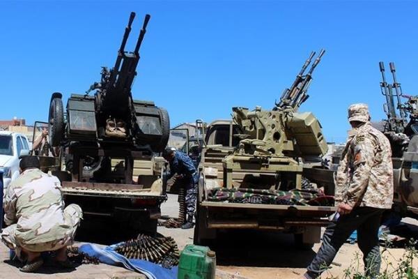 نیروهای دولت وفاق ملی در آستانه کنترل کامل شهر ترهونه قرار دارند