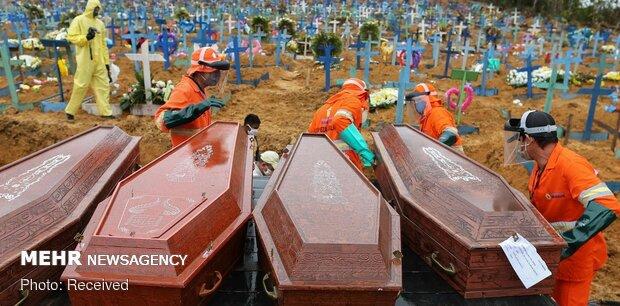 برزیل از انتشار آمار مبتلایان و قربانیان کرونا خودداری کرد