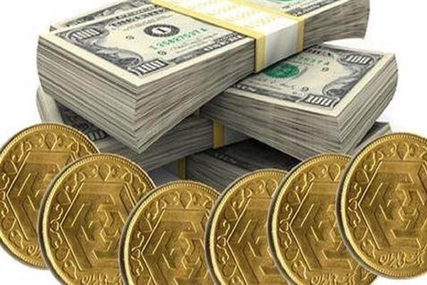 عبور سکه از ۹ میلیون تومان/ دلار رشد کرد