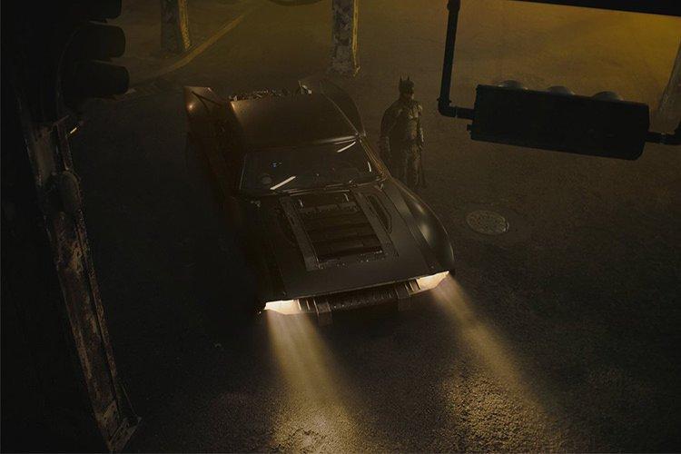 تصاویری از مدل بت موبیل در فیلم The Batman منتشر شد