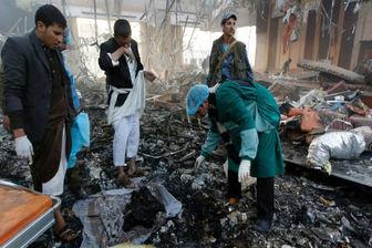 عربستان استانهای مختلف یمن را به شدت بمباران کرد