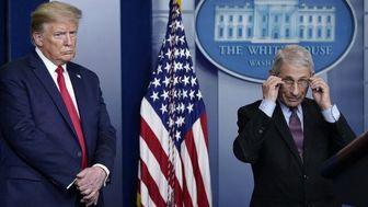 اختلاف نظر مدیر موسسه بیماریهای عفونی آمریکا با ترامپ