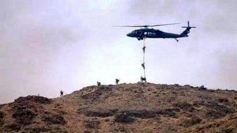 هلیبرن نظامی ترکیه در عراق