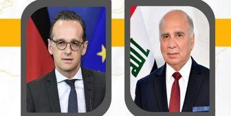 تماس تلفنی وزیر خارجه آلمان با همتای عراقی