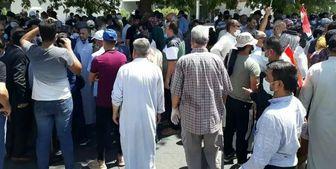 ممانعت از ورود تظاهراتکنندگان مسالمتجو به بغداد