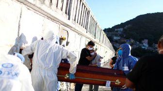 شمار قربانیان کرونا در برزیل