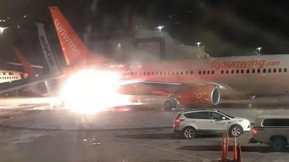 کشته شدن ۸ نفر بر اثر برخورد ۲ هواپیما در آمریکا