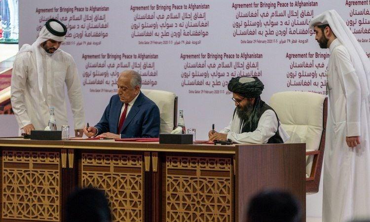 نمایندگان طالبان و آمریکا در قطر دیدار کردند