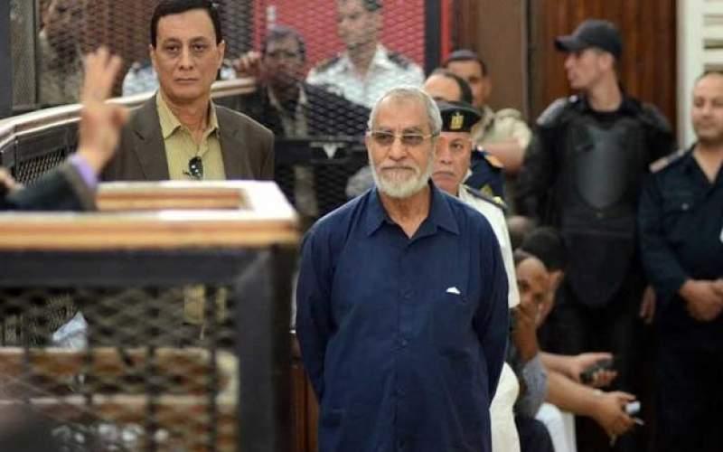 تایید حکم حبس ابد رهبر اخوانالمسلمین