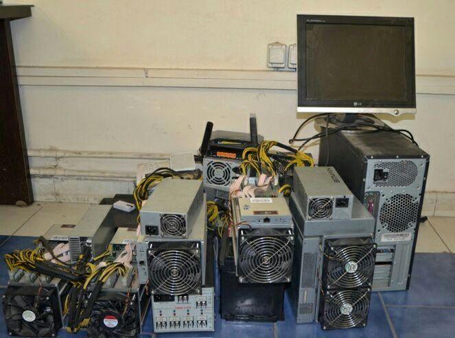 کشف دستگاه های استخراج ارز دیجیتال در لاهیجان