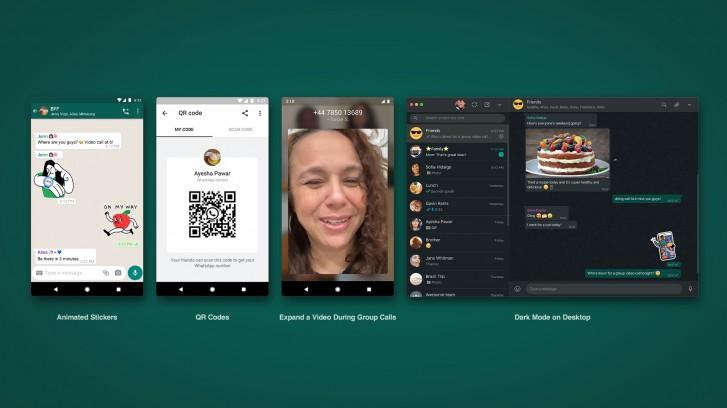قابلیت های جدید واتساپ: افزودن شماره مخاطبان با کد QR و استیکرهای متحرک