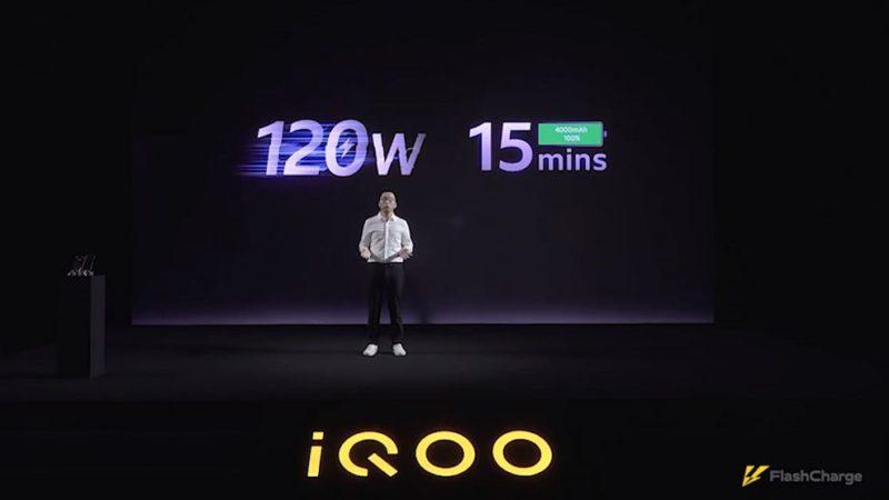 اولین فناوری شارژ سریع ۱۲۰ واتی دنیا معرفی شد؛ شارژ کامل باتری در ۱۵ دقیقه