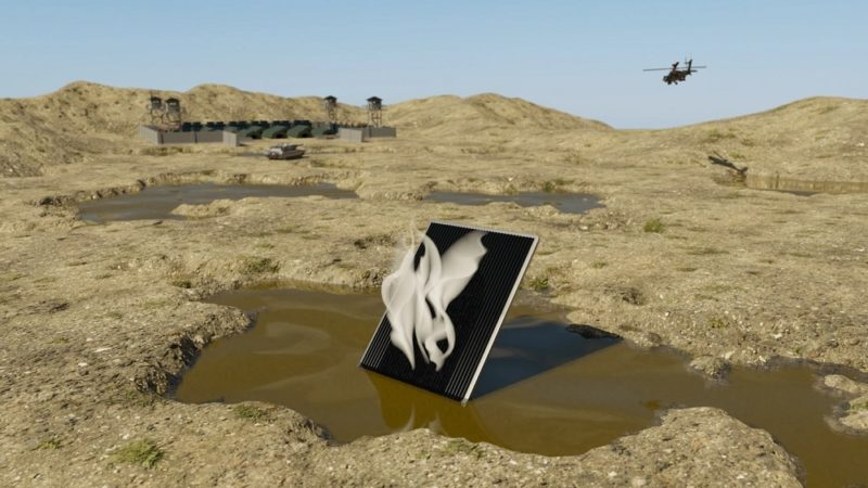 توسعه پنل آلومینیومی که با نور خورشید آب را تصفیه میکند [تماشا کنید]