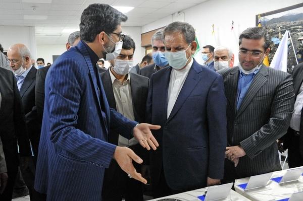 بازدید معاون اول رییس جمهور از دستاوردهای ایران خودرو در نهضت ساخت داخل