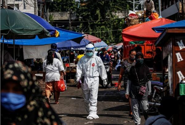 افزایش ۴۹ نفره شمار قربانیان کرونا در اندونزی