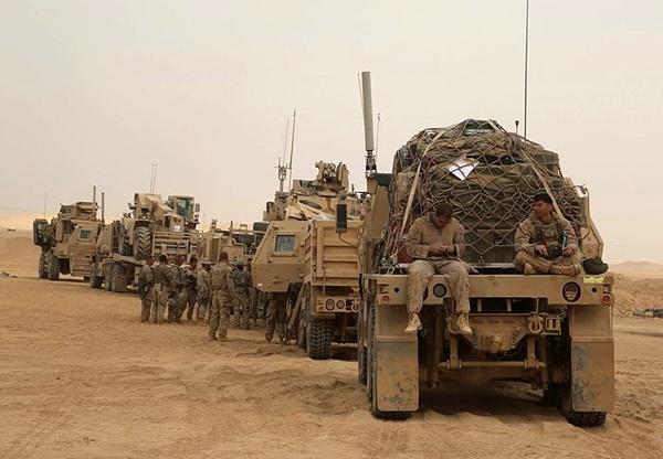 کاهش شمار نیروهای ائتلاف بین المللی به رهبری واشنگتن در عراق