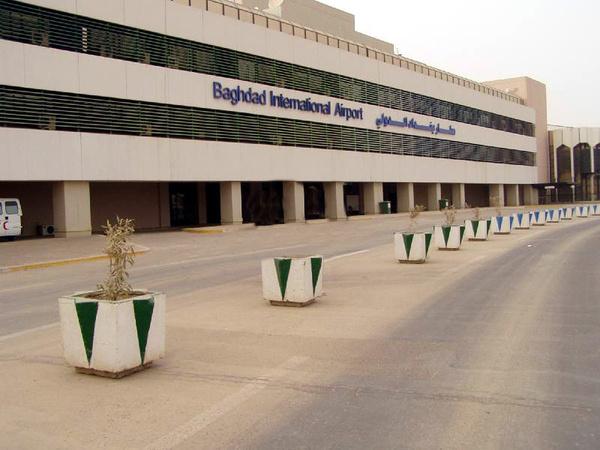 اصابت راکت به فرودگاه بینالمللی بغداد