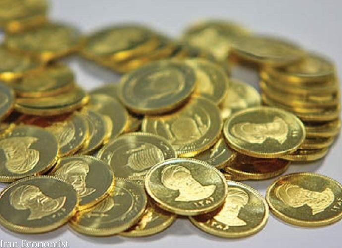 ریزش ۸۷۰هزارتومانی قیمت سکه طی دو ساعت